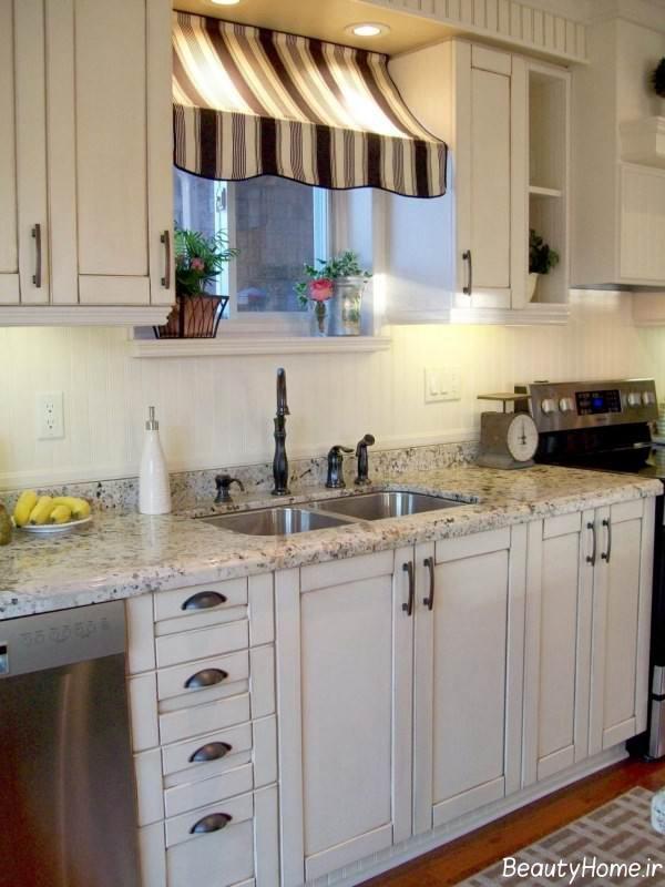 طراحی داخلی آشپزخانه بهاری