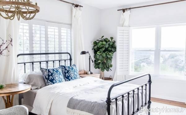 طراحی داخلی اتاق خواب بهاره