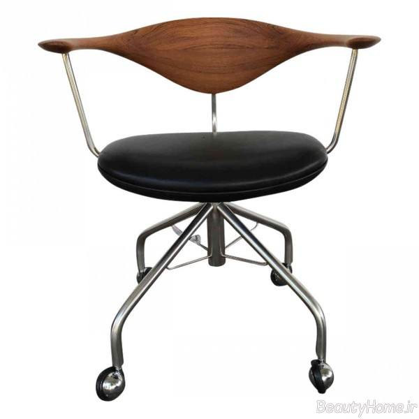 صندلی چرخدار مدرن و زیبا