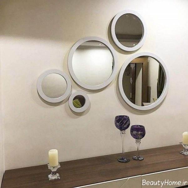نقش آینه در دکوراسیون منزل