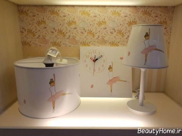 طرح چراغ خواب برای اتاق کودک
