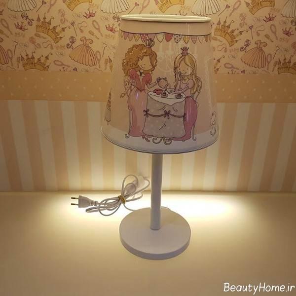 آباژور مخصوص اتاق کودک دخترانه