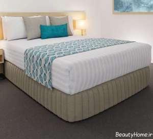 شال طرح دار مخصوص تخت خواب