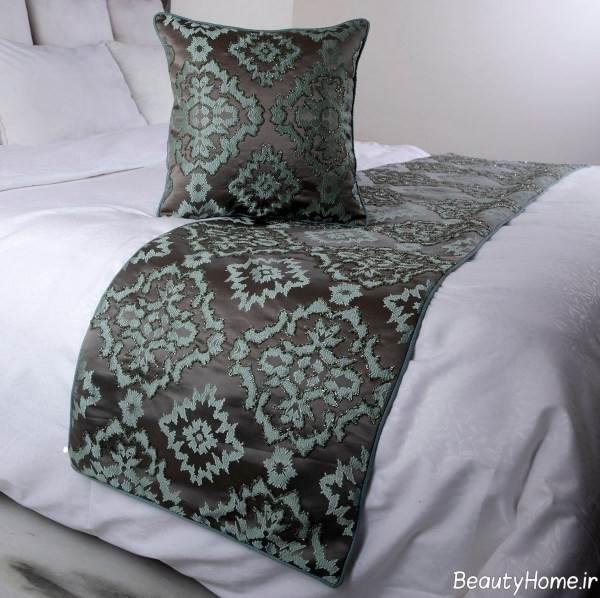 شال تخت طرح دار و زیبا