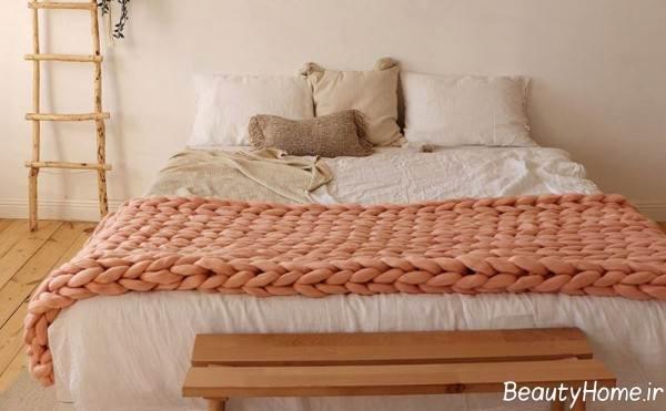 شال تخت خواب زیبا