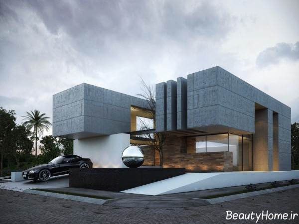 نمای زیبا ساختمان