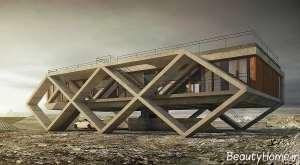 طراحی نما شیک ساختمان