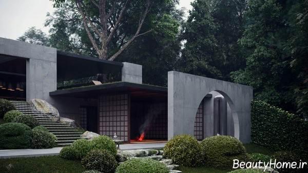 نمای بیرونی ساختمان در سال 2020