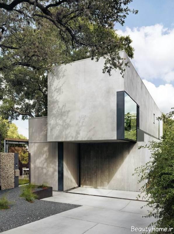 نمای ساده ساختمان