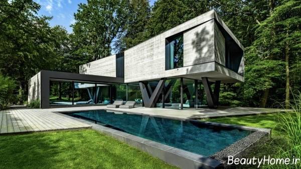 طراحی نمای شیک ساختمان