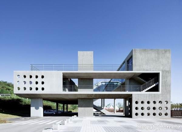نما ساختمان مدرن