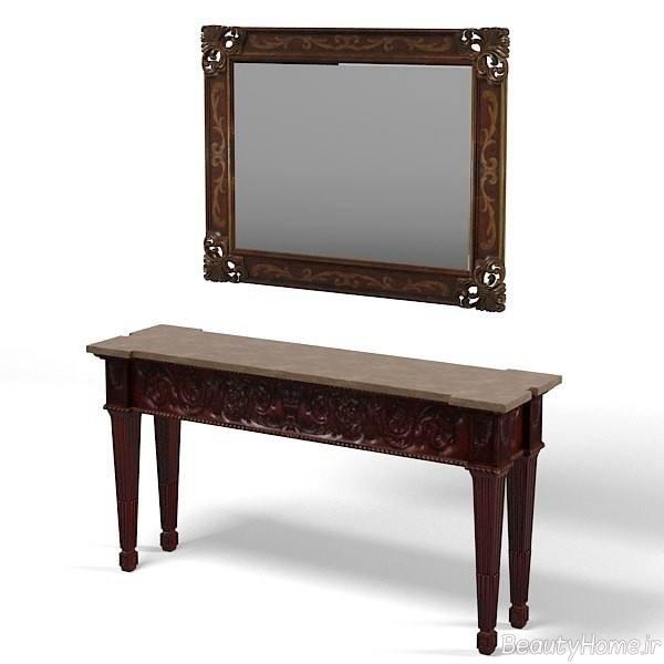 آینه و کنسول شیک