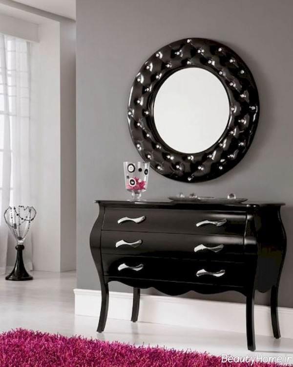 آینه کنسولی شیک و زیبا