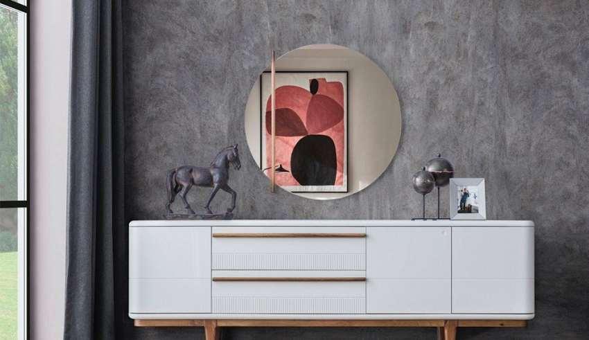 مدل آینه کنسول