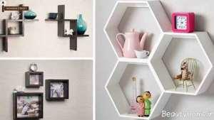 تزیین خانه به کمک شلف دیواری