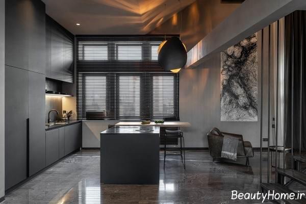 نورپردازی داخلی آشپزخانه