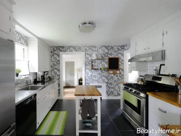کاغذ دیواری مخصوص آشپزخانه