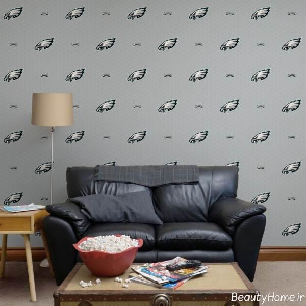 کاغذ دیواری مخصوص اتاق نشیمن