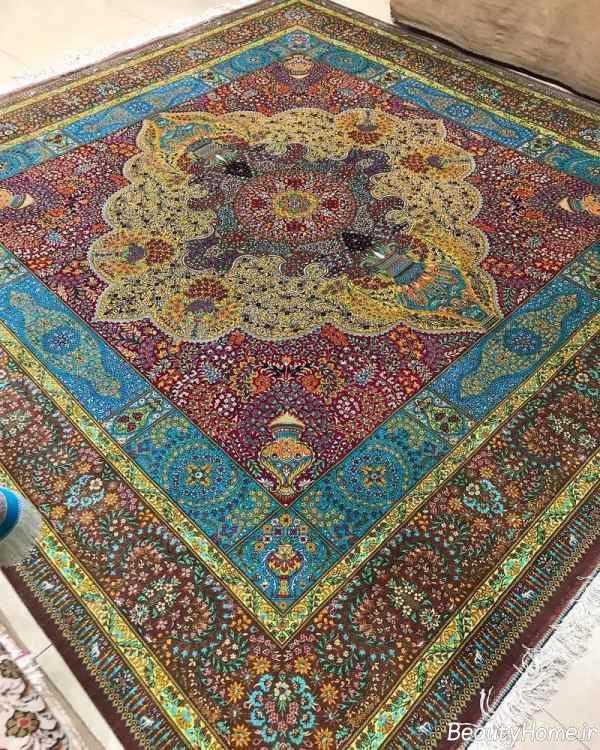 فرش زیبا و جدید ایرانی