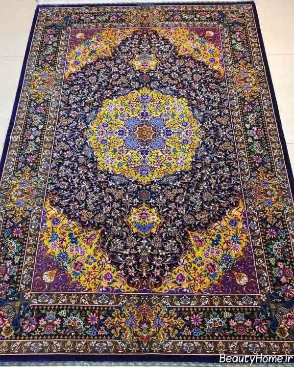فرش طرح دار دستباف
