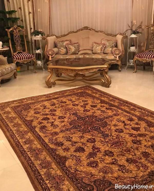 فرش زیبا و شیک ایرانی