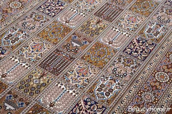 فرش دستباف زیبا و جذاب