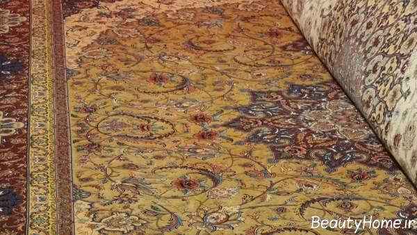 فرش زیبا و جذاب ایرانی