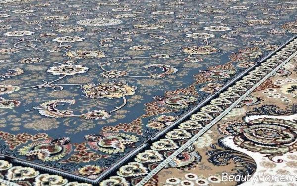 فرش طرح دار و زیبا ایرانی