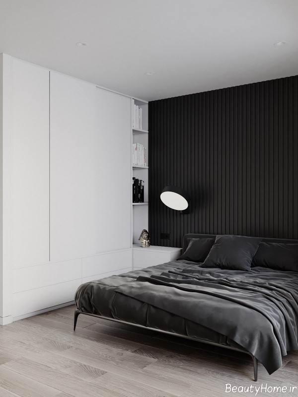 طراحی داخلی اتاق خواب مینیمال