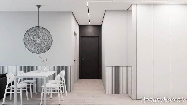 طراحی داخلی مینیمال زیبا و شیک