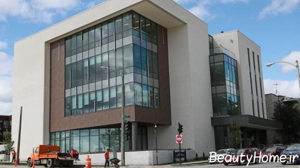 نمای خارجی ساختمان پزشکان