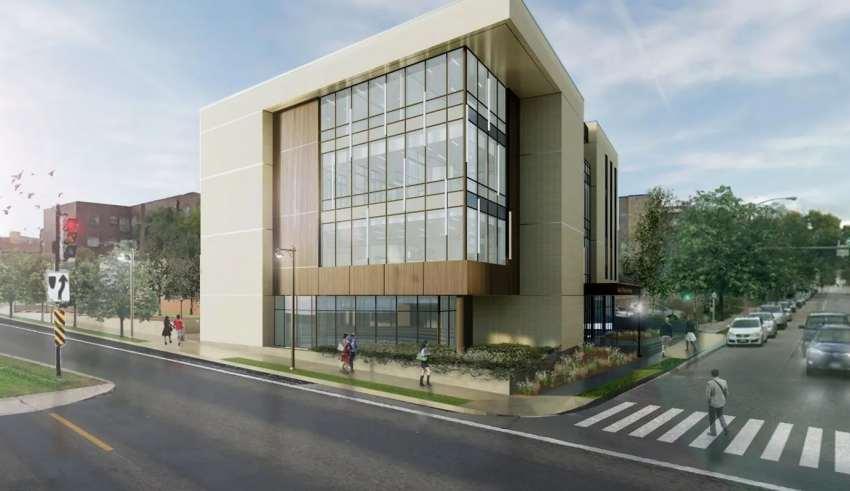 نمای ساختمان پزشکان