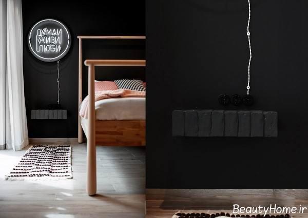 استفاده از رنگ صورتی در طراحی داخلی اتاق خواب