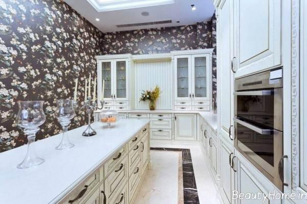 آشپزخانه مستطیل شکل