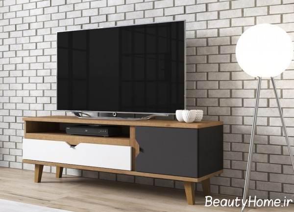 میز تلویزیون کوچک و زیبا