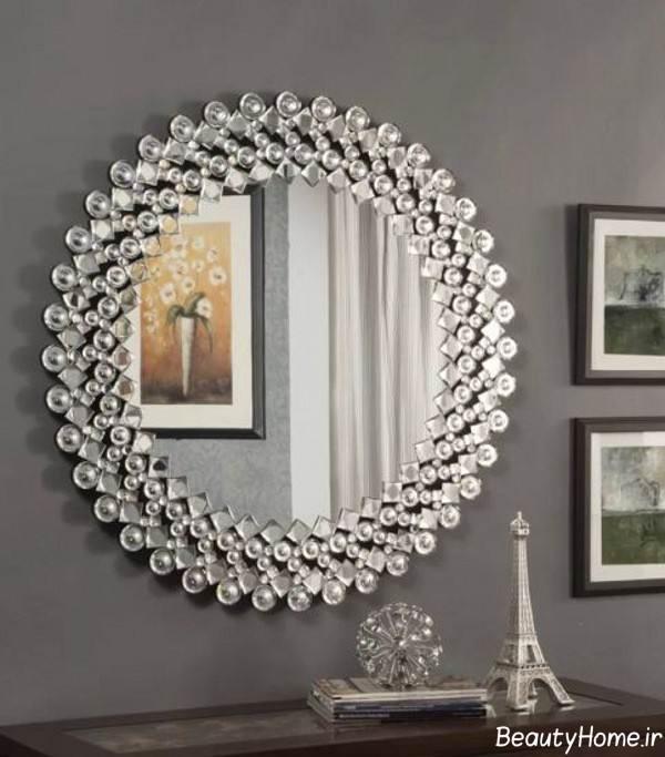 آینه دیواری زیبا و جذاب
