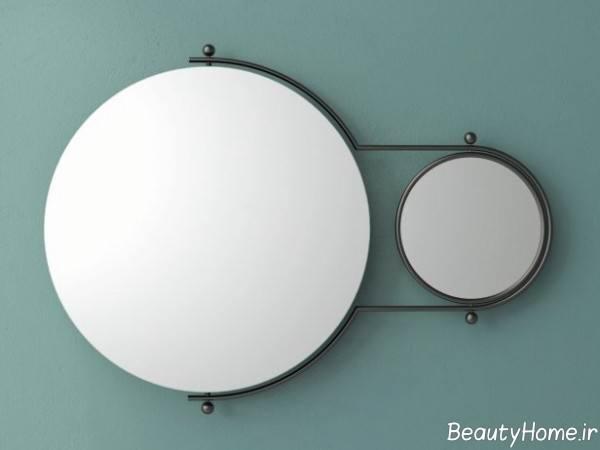 آینه دیواری گرد