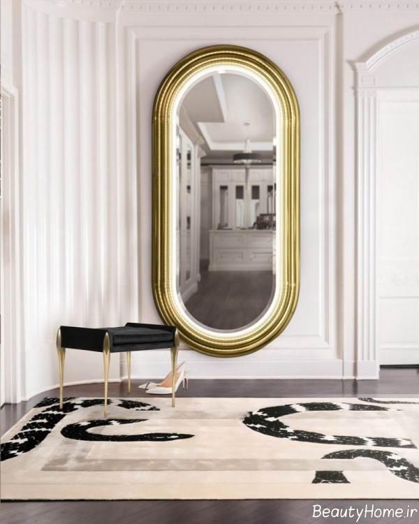 آینه دیواری زیبا