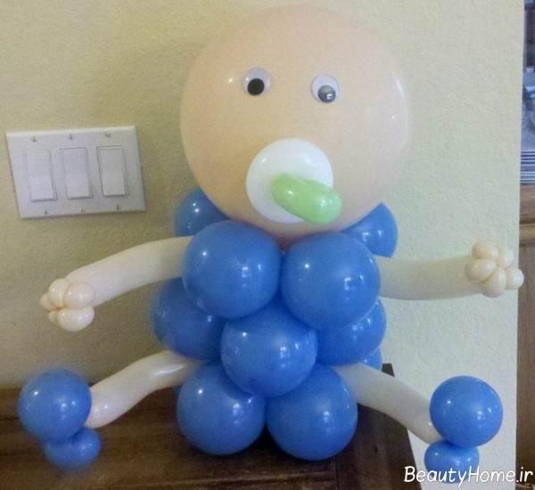 تزیین سیسمونی نوزاد دختر و پسر