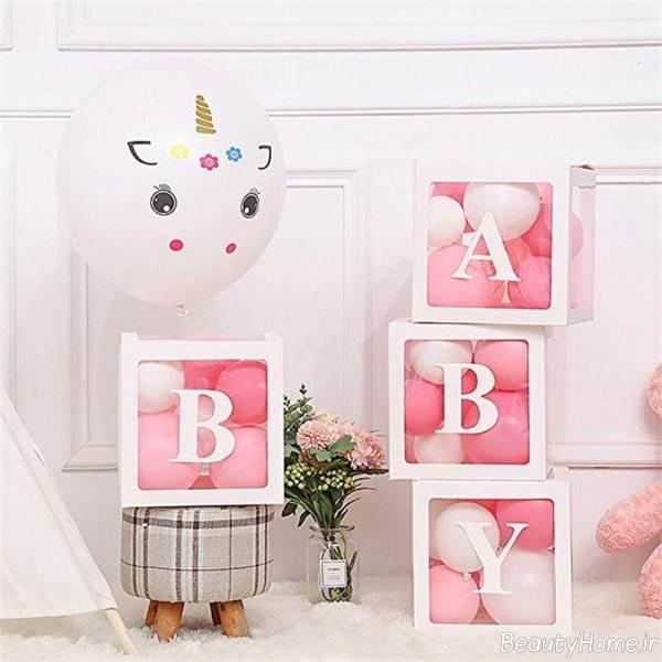 تزیین سیسمونی مخصوص نوزاد