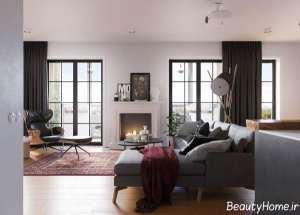 دیزاین داخلی خانه 100 متری