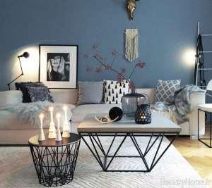 تزیین ساده و جالب میز با شمع