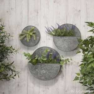 طراحی باغچه روی دیوار