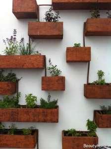 باغچه دیواری زیبا و کاربردی