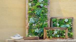 باغچه شیک روی دیوار