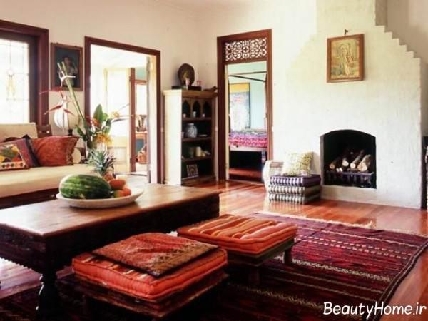 دکوراسیون منزل به سبک سنتی