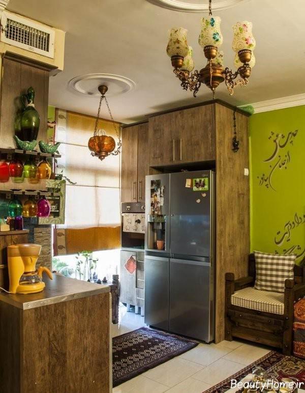 دکوراسیون داخلی آشپزخانه سنتی