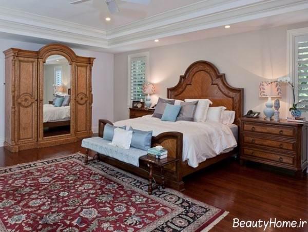 دکوراسیون اتاق خواب سنتی و شیک