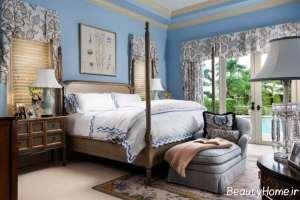 طراحی داخلی اتاق خواب سنتی