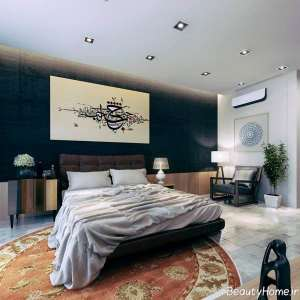 دیزاین داخلی اتاق خواب ایرانی